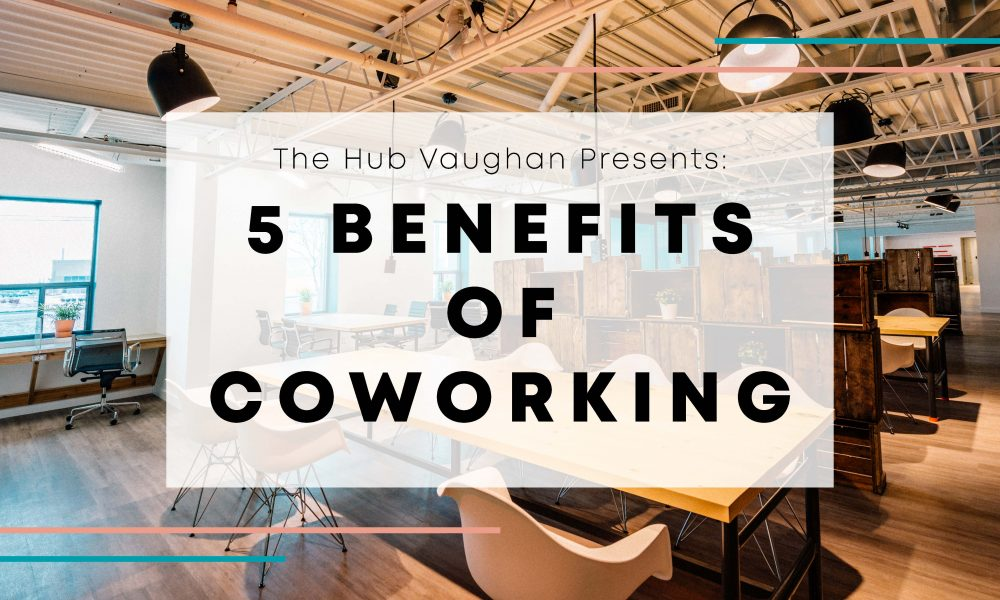 The Hub Vaughan Blog Banner_The Benefits of Coworking